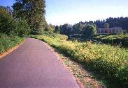 Trail from Bothell to Woodinville